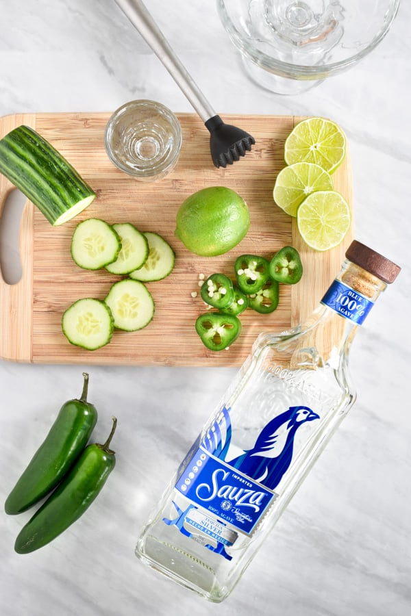 ingredients for margaritas